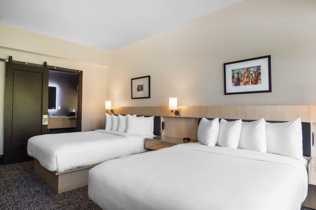 queen room  two queen beds  the waters hotel