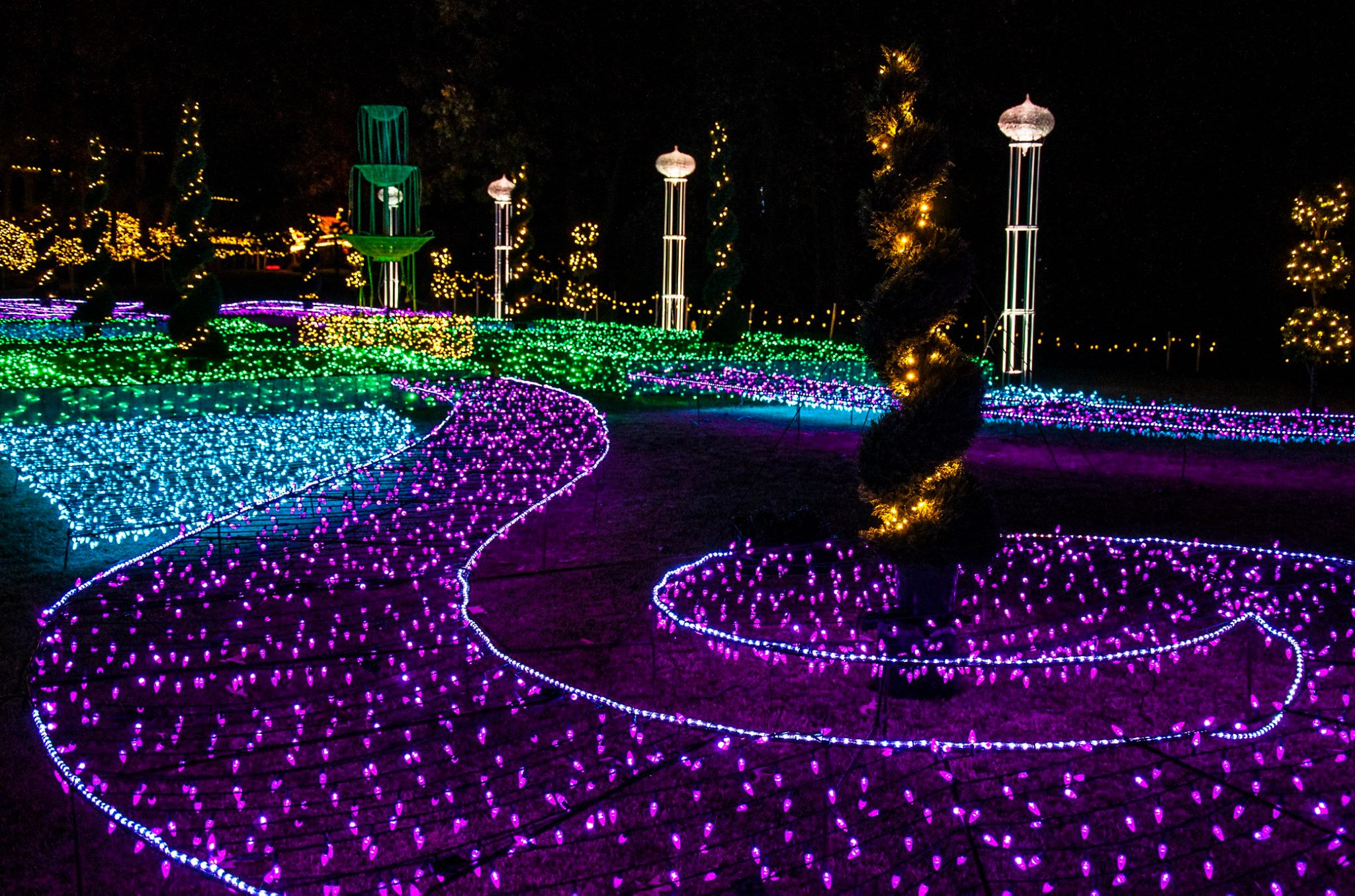 When Is Garvan Gardens Christmas Lights 2020 Light up your Holidays at Garvan Woodland Gardens   The Waters Hotel